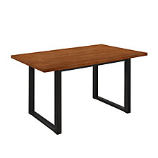 "60"" Urban Wood Kitchen Dining Table - Antique Brown"