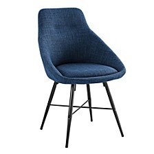 Urban Upholstered Side Chair, Set of 2 - Blue