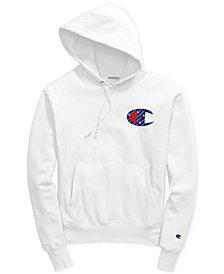 Champion Men's Reverse-Weave Logo Hoodie