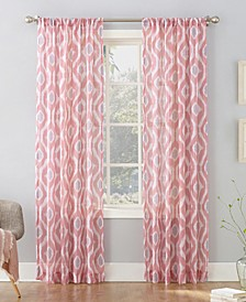 Shiro Ikat Crushed Sheer Curtain Collection