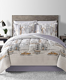 New York Reversible 8-Pc. Comforter Sets