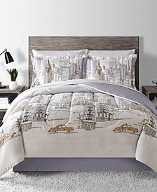 Fairfield Square Collection New York Reversible 6-Pc. Twin Comforter Set