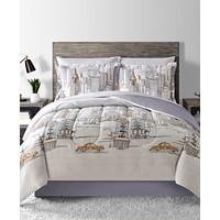 Deals on 8-Pc. Reversible Comforter Sets on Sale