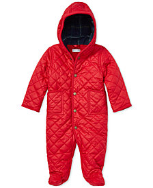 Ralph Lauren Baby Boys & Girls 3-6 M Fleece-Lined Bunting
