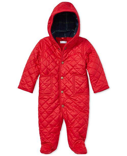 f5a95d5fa891 Polo Ralph Lauren Ralph Lauren Baby Boys   Girls 3-6 M Fleece-Lined ...