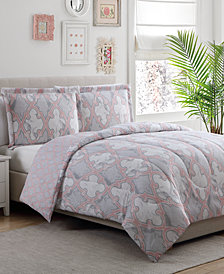 Carrerra Reversible 3-Pc. Full/Queen Comforter Set, Created for Macy's