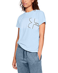 Under Armour Classic Crew Graphic Logo T-Shirt