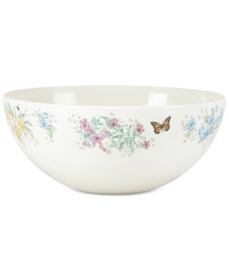 Butterfly Meadow Melamine Serving Bowl