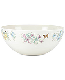 Lenox Butterfly Meadow Melamine Serving Bowl