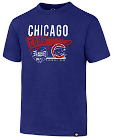 '47 Brand Chicago Cubs Super Rival T-Shirt, Big Boys (8-20)
