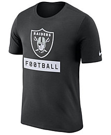 Nike Men's Oakland Raiders Legend Football Equipment T-Shirt