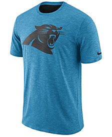 Nike Men's Carolina Panthers Dri-Fit Cotton Slub On-Field T-Shirt