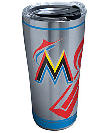 Tervis Tumbler Miami Marlins 20oz. Genuine Stainless Steel Tumbler