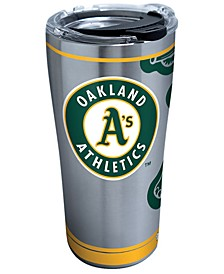 Oakland Athletics 20oz. Genuine Stainless Steel Tumbler