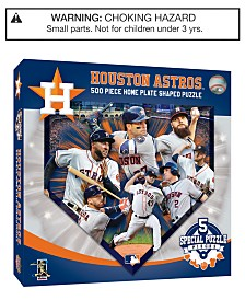 MasterPieces Houston Astros 500 Piece Shaped Puzzle