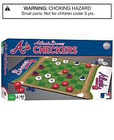 MasterPieces Atlanta Braves Checkers