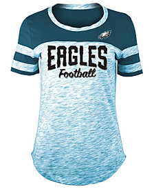 5th & Ocean Women's Philadelphia Eagles Space Dye T-Shirt