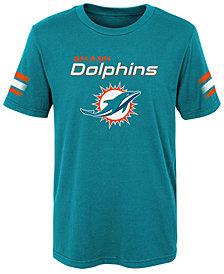 Outerstuff Miami Dolphins Goal Line T-Shirt, Little Boys (4-7)