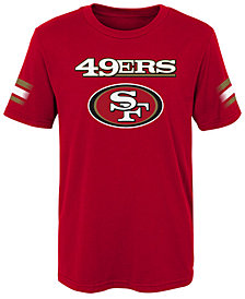 Outerstuff San Francisco 49ers Goal Line T-Shirt, Little Boys (4-7)