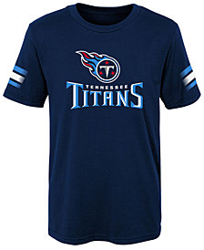 Outerstuff Tennessee Titans Goal Line T-Shirt, Little Boys (4-7)