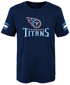Outerstuff Tennessee Titans Goal Line T-Shirt, Little Boys (4-7)