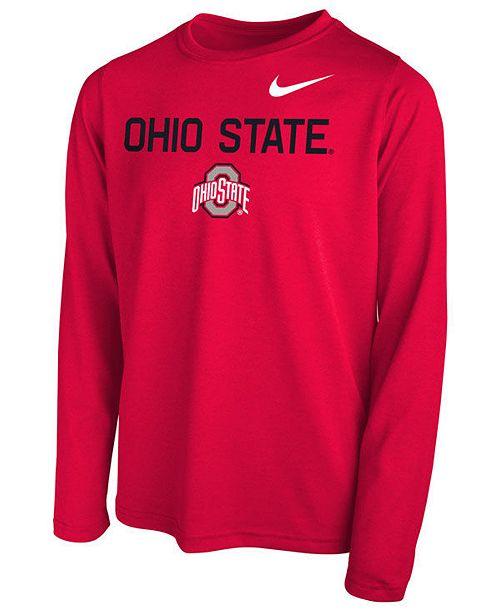 27d0693c501c5 Nike Ohio State Buckeyes Legend Long Sleeve T-Shirt
