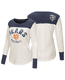Touch by Alyssa Milano Women's Chicago Bears Thermal Long Sleeve T-Shirt