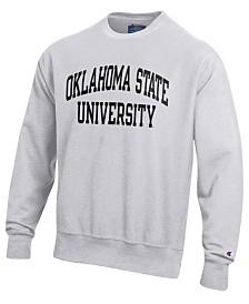 Champion Men's Oklahoma State Cowboys Reverse Weave Crew Sweatshirt