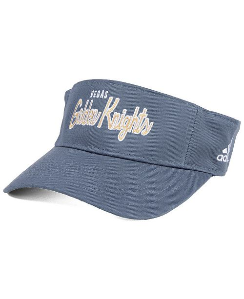d0f2e389959 adidas Vegas Golden Knights Chase Visor - Sports Fan Shop By Lids ...