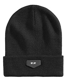 Steve Madden Men's High-Profile Cuffed Beanie