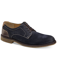 Johnston & Murphy Men's Copeland Water-Resistant Plain-Toe Bluchers