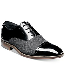 Stacy Adam's Men's Barrington Cap-Toe Leather Oxfords