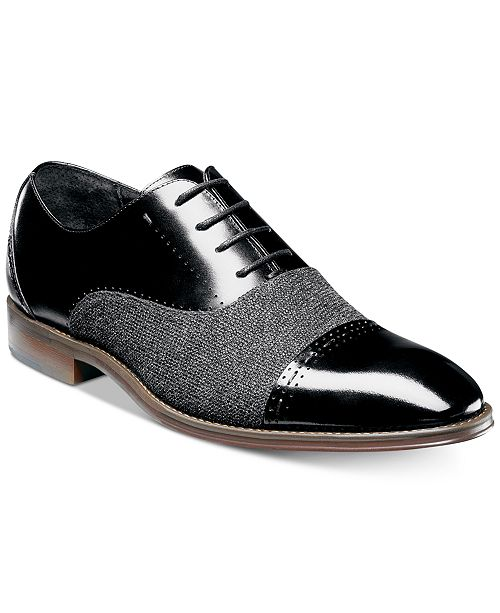4660d7ab49 ... Stacy Adams Stacy Adam's Men's Barrington Cap-Toe Leather Oxfords ...