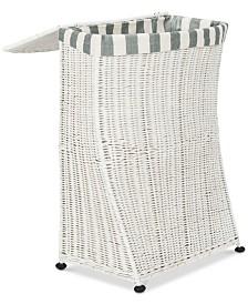 Trotter Rattan Laundry Basket, Quick Ship