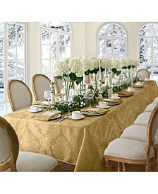 "Barcelona Damask 60"" x 102"" Oblong Tablecloth"