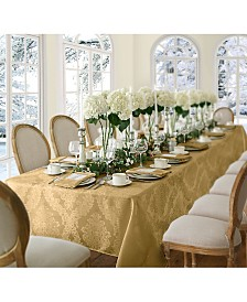 "Elrene Barcelona Damask 60"" x 102"" Oblong Tablecloth"