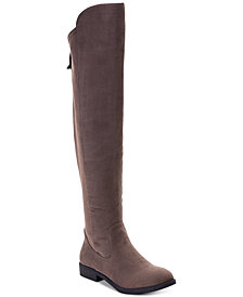 Style & Co Hayley Over-The-Knee Zip Boots, Created for Macy's