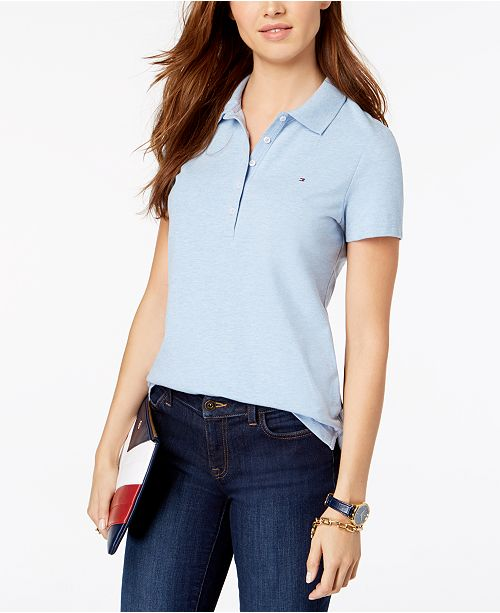 81d345fd Tommy Hilfiger Core Polo Shirt, Created for Macy's. Macy's / Women / Tops