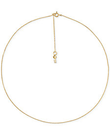 Michael Kors Women's Custom Kors Sterling Silver Starter Necklace