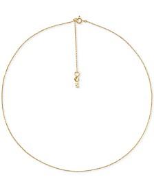Michael Kors Women's Custom Kors Sterling Silver Starter Necklace