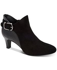Alfani Women's Step 'N Flex Valmontt Booties, Created for Macy's
