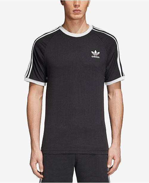 3 stripe adidas shirt