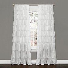 "Ruffle 50"" x 84"" Window Curtain"