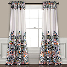 "Clara Room Darkening 52"" x 84"" Window Curtain Set"
