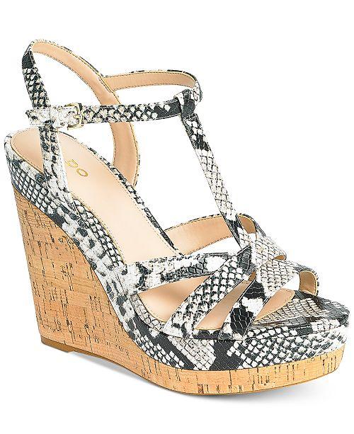 0f218ff32a3 ALDO Nydaycia Wedge Sandals & Reviews - Sandals & Flip Flops ...