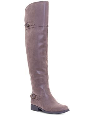 Image of American Rag Adarra Over-The-Knee Boots, Created for Macy's Women's Shoes