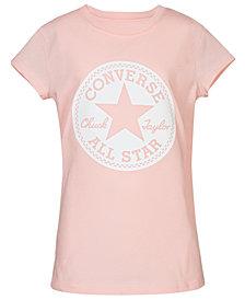 Converse Big Girls Chuck Taylor Signature Cotton T-Shirt