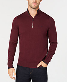 Michael Kors Men's Quarter-Zip Sweater