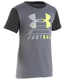 Under Armour Toddler Boys Football Logo Graphic T-Shirt
