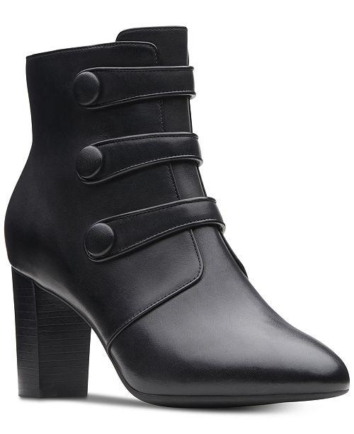 b32e05448 Clarks Collection Women s Chryssa Ella Booties   Reviews - Boots ...